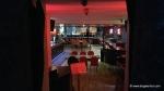 Second bar on the floor underneath the main bar