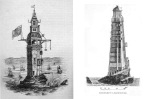 The ill-fated 1st and 2nd Eddystone Lighthouses