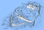 The original fort, as re-imagined by the OPW