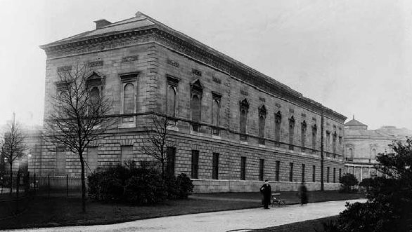 The original 19th-century-exterior of the Natural History Museum, Dublin