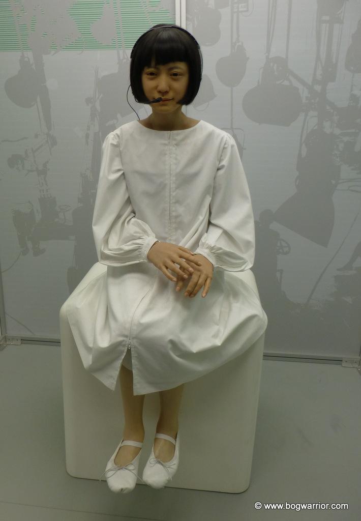 Komodroid, a Japanese robot