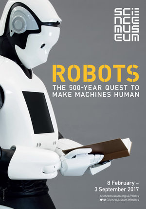 Poster from the Robots Exhibition