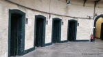 Some prison cell doorways