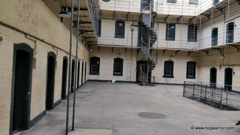 East Wing of the prison