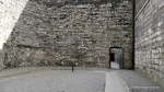 Cross marking the spot where 13 of the leaders of the Easter Rising were shot by firing squad