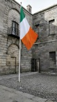The Irish Tricolour outside Kilmainham Gaol