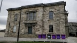 Kilmainham Courthouse and some funky purple bins