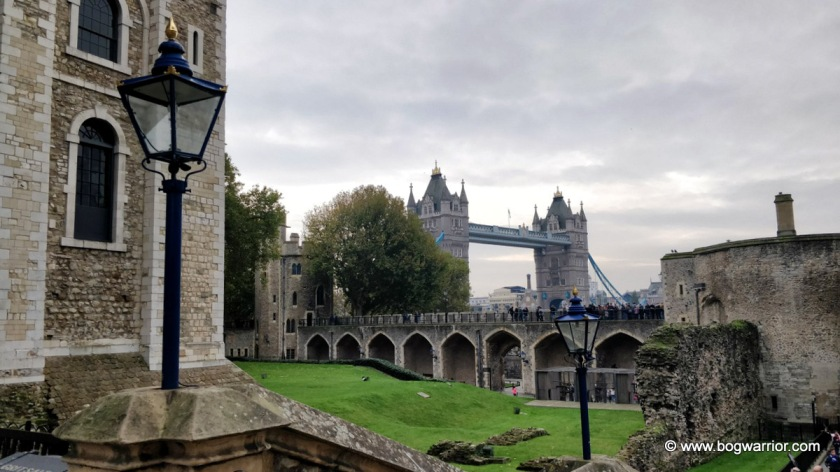 Tower Bridge, as viewed from the Tower of London