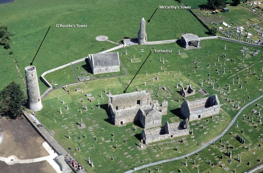 Clonmacnoise Co Offaly,Ireland  Early Christian Site