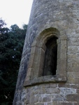 Doorway in Timahoe Round Tower