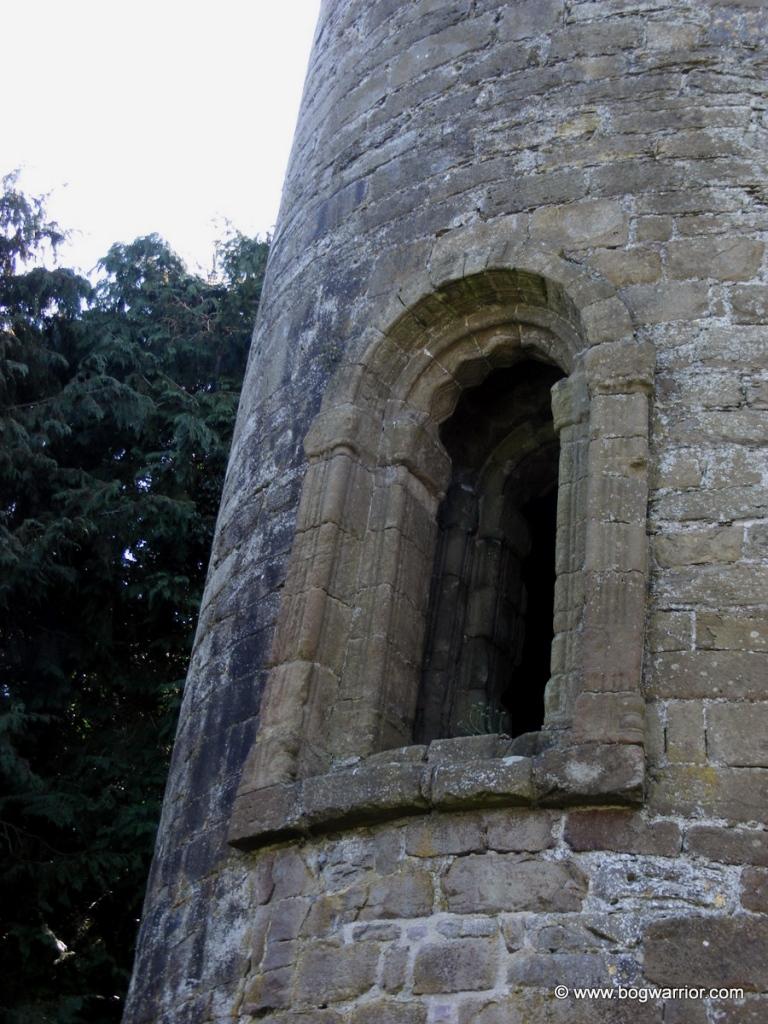 Doorway in Timahoe Round Tower