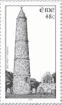 The tower, as featured in a 2005 postage stamp